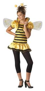 Halloween Bee Costume Cute Lil U0027 Bumble Bee Fancy Dress Costume Includes Short
