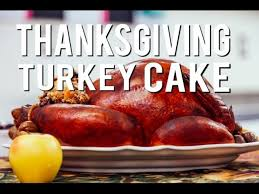 how to make a looking roasted thanksgiving turkey cake with