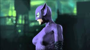 catwoman halloween suit long halloween catwoman character trophy from arkham city youtube