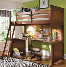 Wood Loft Bed With Desk Plans by Wood Bunk Bed With Desk Underneath Plans Home Design Ideas