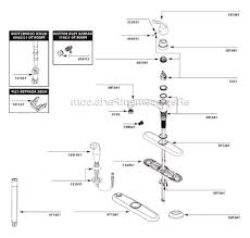 Replacing Moen Kitchen Faucet Moen 7425 Parts List And Diagram After 10 10