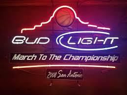bud light neon signs for sale bud light march to the chionship neon sign real neon light for