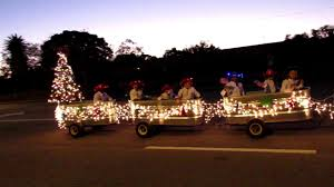 christmas lights ocala fl ocala christmas parade 10 dec 20171 youtube