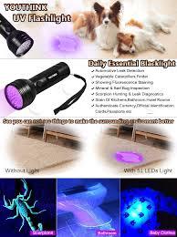amazon com pet urine detector light handheld uv black light