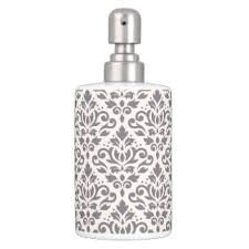 Damask Bathroom Accessories Ornate Bath Accessory Sets Zazzle