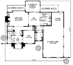 English Style House Plans by English Country Style House Plans Plan 7 317