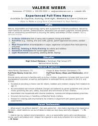 high resume template australia news headlines nanny resume sle monster com