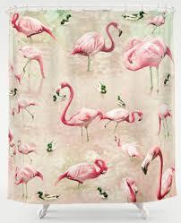 Vintage Shower Curtain My 10 Favorite Flamingo Shower Curtains 24 More Retro Renovation