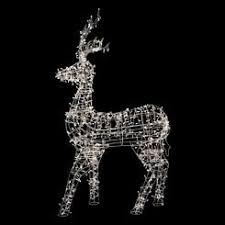 Outdoor Reindeer Decorations Animated Lighted Reindeer