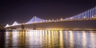 Bay Bridge Lights The Bay Bridge Lights Are Coming Down This Friday U2014 The Bold