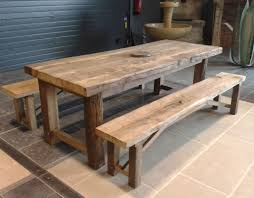 panchina in legno da esterno set tavolo e panca moderno in legno per esterni da giardino