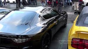 black maserati maserati granturismo coupe black youtube