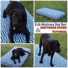 crib mattress dog bed gluesticks