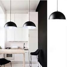 black kitchen pendant lights online get cheap pendant lamp semicircle aliexpress com alibaba