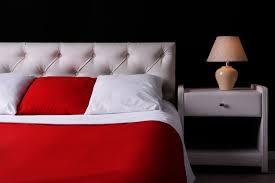 Bedroom With Red Accent Wall - 41 fantastic red and black bedrooms interiorcharm