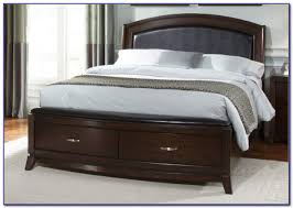 king size platform bed with storage canada bedroom home design