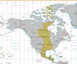 Central America And Caribbean Map by Central Time Zone Wikipedia
