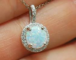 opal pendant necklace images Opal necklace etsy jpg