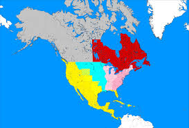 French Canada Map by Canada The Independent Canada Alternate History By Louisthefox