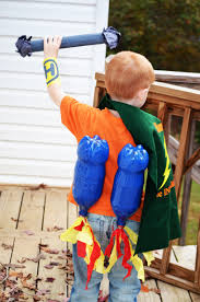 how to make your kid a superhero costume honeysuckle footprints
