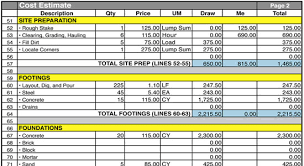 Estimating Flooring Costs by This Is An Exclusive Excel Based Bar Bending Schedule Program