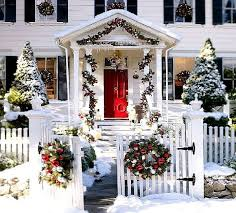 pictures of homes decorated for christmas outside part 18