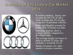 mercedes market mercedes and its competitors in india analysis 2014