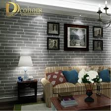 modern brown grey white black brick wallpaper for walls 3 d for