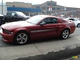 2009 Black Mustang Gt 2009 Dark Candy Apple Red Ford Mustang Gt Cs California Special