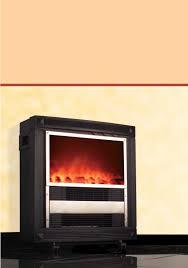 kompernass indoor fireplace kh 1117 user guide manualsonline com