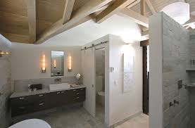 Sliding Barn Doors That Bring Rustic Beauty To The Bathroom - Toilet and bathroom design