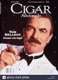 Magazine Usa 1990s Usa Cigar Aficionado Magazine Cover Stock Photo Royalty
