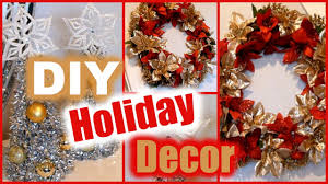 Holiday Decorations Diy Holiday Decorations Dollar Tree Christmas Decor Wreath
