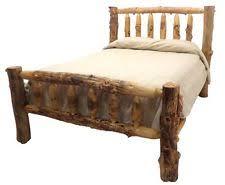 Log Queen Bed Frame Log Bed Frame Ebay