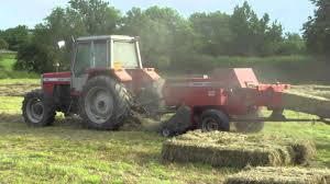 massey ferguson baler 1839 youtube