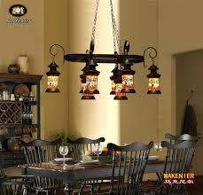 tiffany style dining room lights online store makenier retro industrial vintage tiffany style
