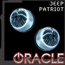 Halos Around Lights 2007 2015 Jeep Patriot Led Headlight Halo Kit By Oracle U2013 Nfc