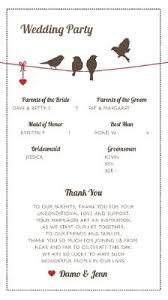 Thank Yous On Wedding Programs Let U0027s See Your Programs Weddings Do It Yourself Wedding