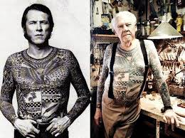 Old Man Tattoo Meme - old people with tattoos do tattoos still look cool as we age