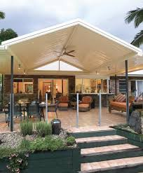 Gable Patio Designs Gable Verandahs Adelaide Stratco Outback Gable Pergolas Carports