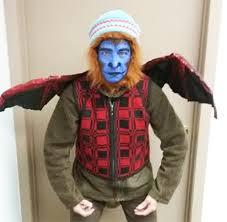 Flying Monkey Halloween Costume Chance Vote Favorite Green Halloween Costume