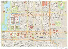 Beijing Map Beijing City Map In Illustrator Cs Or Pdf Format