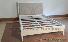 Dipan Kayu Kalimantan tempat tidur anak kayu jati minimalis murah putih harga murah