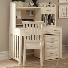 L Shaped Home Office Desk With Hutch by Deluxe Wood Desk With Hutch In White Office Desks Wke Dw48d30 Dhwh