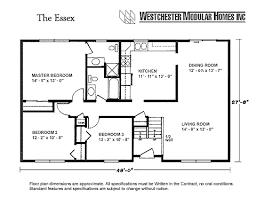 ranch style house floor plans lovely ideas modular home floor plans ranch style 4 westchester