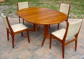 Mid Century Danish Modern Glamorous Scandinavian Teak Dining Room - Scandinavian teak dining room furniture