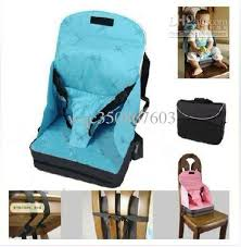 baby high chair that attaches to table baby portable fold up safety high chair booster seat blue