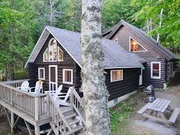 Cottages With Breezeway Log Cabin On North Shore Of Beautiful Homeaway Rangeley