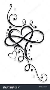31 best heart infinity for women rose tattoo designs images on