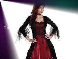 Gothic Womens Halloween Costumes Minute Halloween Costume Ideas Women Gothic Vampire